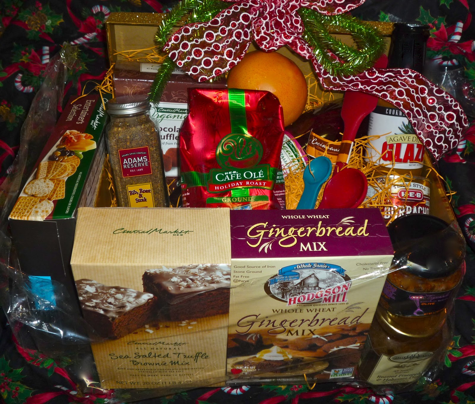 Measuring Spoons Heb: The Weekend Gourmet: Holiday Gift Baskets...Featuring HEB
