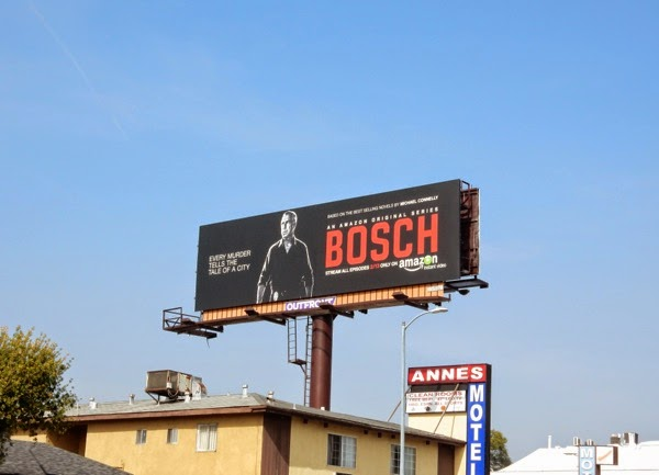 Bosch series launch billboard