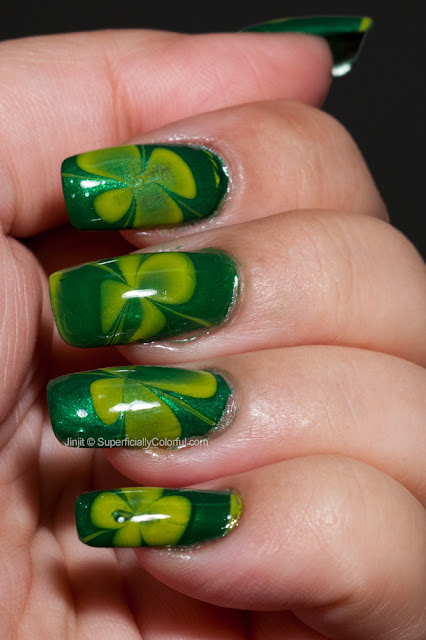 Water Marble Orly Green Apple Life 321
