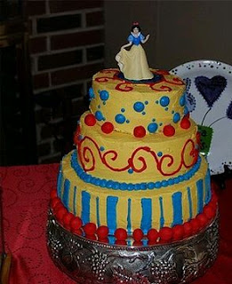 Snow White Cakes for Children Parties
