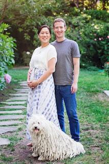 Mark Zuckerberg anuncia no Facebook que será pai pela primeira vez.
