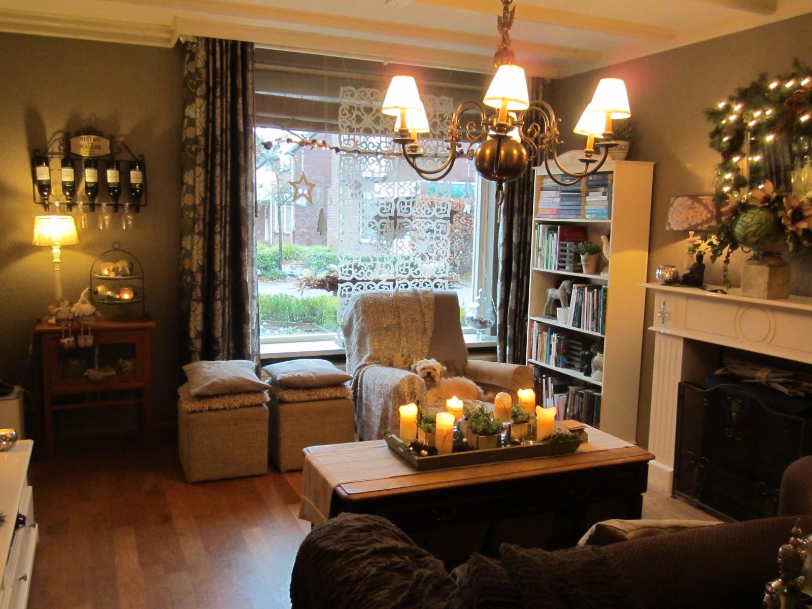 Annie 39 s sfeer creaties more kerst sfeer in de huiskamer for Huiskamer meubels