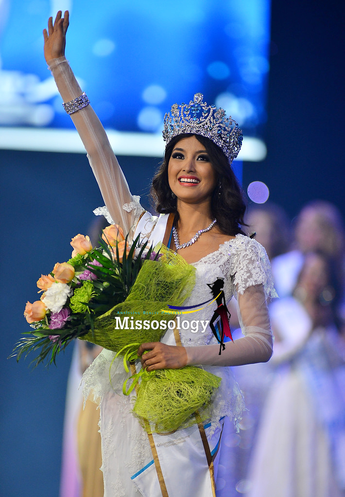 Mutya Datul from the Philippines is crowned MISS SUPRANATIONAL 2013
