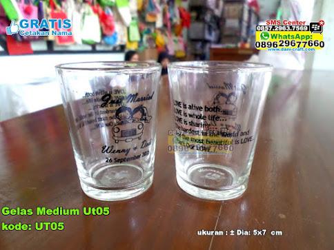Gelas Medium Ut05