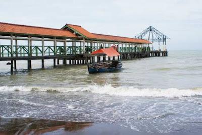 Pantai Purwahamba Indah Kabupaten Tegal Yang Cantik