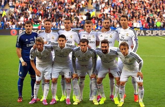 Daftar Skuad Pemain Real Madrid 2014-2015