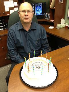 Larry's cake
