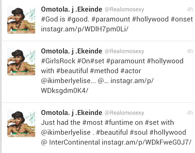 omotola us movie drama series