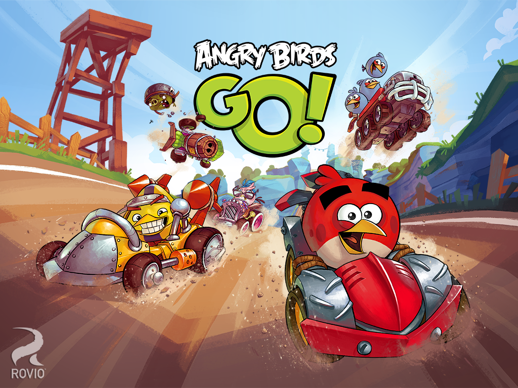 Download Game Angry Birds Go Apk + Data For Android