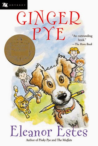 Book review of Ginger Pye by Eleanor Estes. This book had us on the edge of our seats! We were desperate for Ginger to get back home to his family.