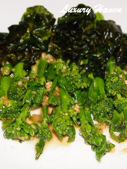 yuan yang chinese kailan vegetables recipes