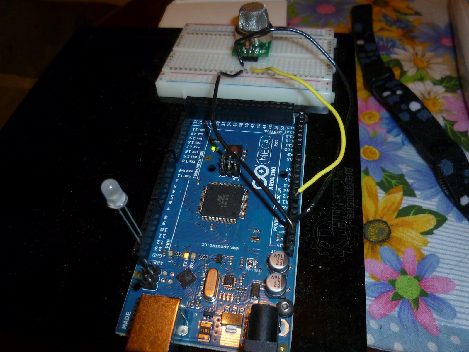 Smoke sensor mq2 mq6