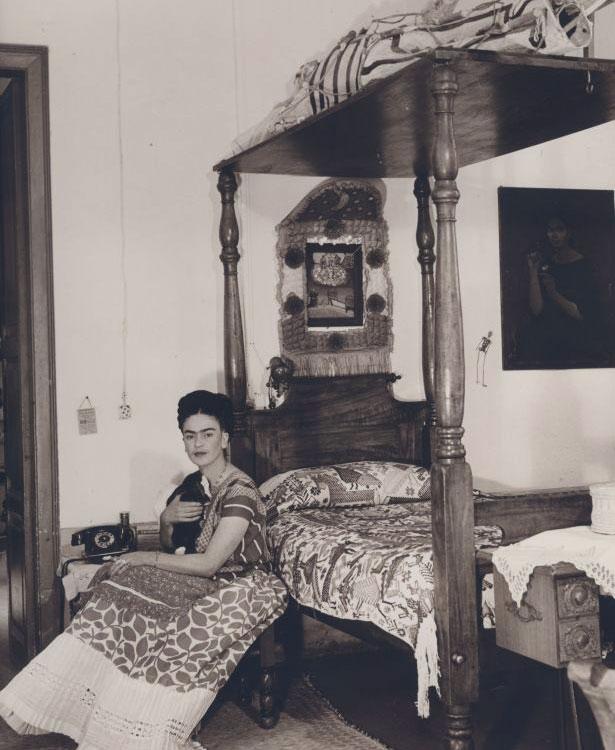 El sue o llamado la cama famoso cuadro de frida kahlo - Famoso letto di tortura ...