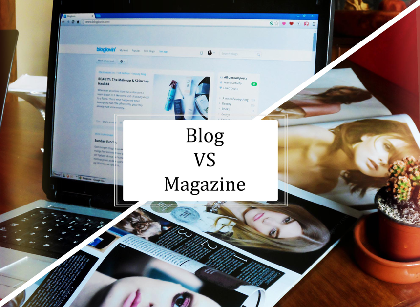 BLOG VS MAGAZINE | MEET ME @ 2AM
