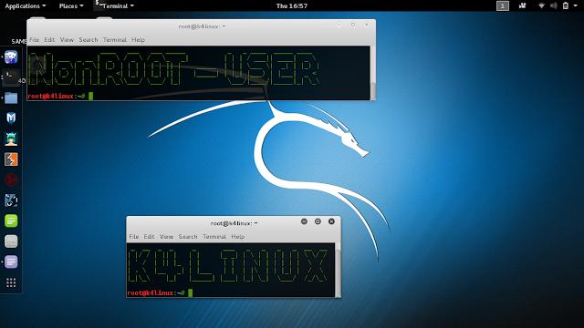 add non root user kali linux 2.0 tutorials
