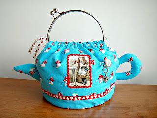 Alice Teapot Handbag