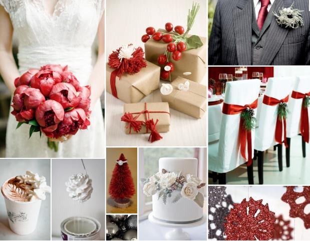 Wedding blog christmas wedding