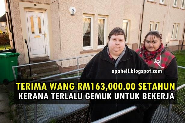 Terima RM163,000.00 Kerana Terlalu Gemuk Untuk Bekerja