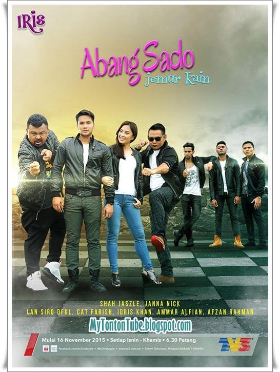 Drama Abang Sado Jemur Kain (2015) Slot Iris TV3 - Full Episode