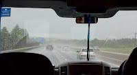 Дороги Шотландии под дождем