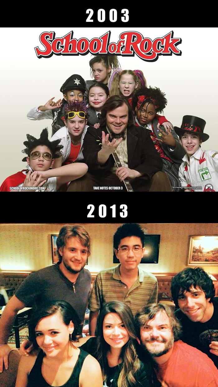 "Atores de ""Escola do Rock"" dez anos depois"