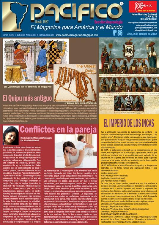 Revista Pacífico Nº 86 Arqueología