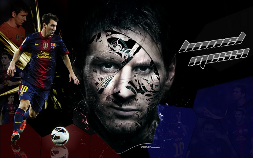 Wallpaper Barcelona 2013 Messi
