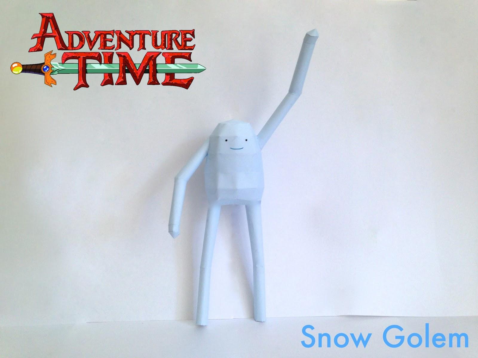 Snow Golem Papercraft