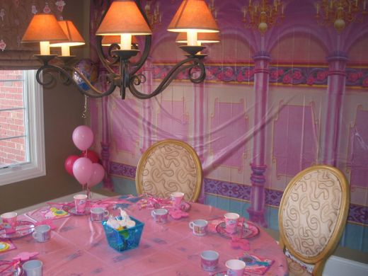 Girls Birthday Party Decoration Ideas | Home Design, Decorating ...