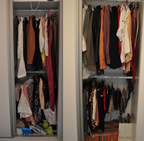 Mimi co como organizar un vestidor - Organizar armario ikea ...