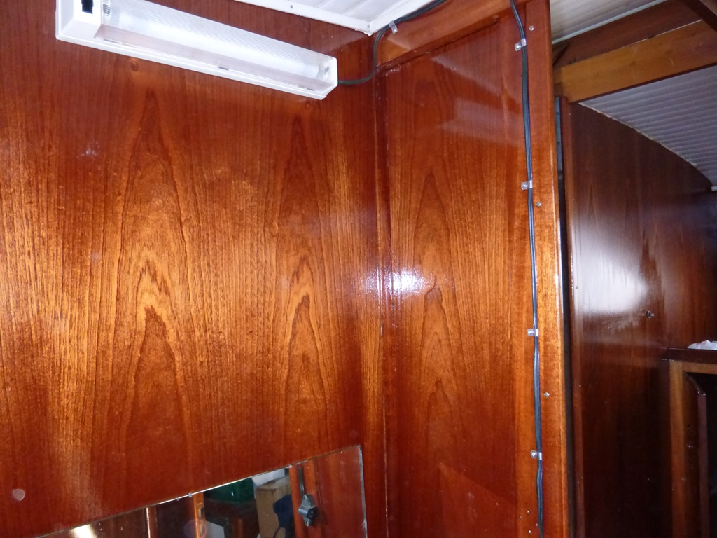 Storebro 34 Rebuilt Bathroom