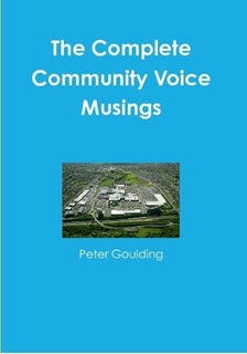 Order from Lulu - seven years worth of Musings culled from the pages of The Community Voice
