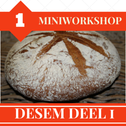 Een gratis workshop over desem!