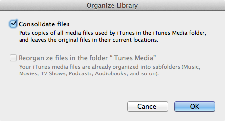 how to get to itunes media folder