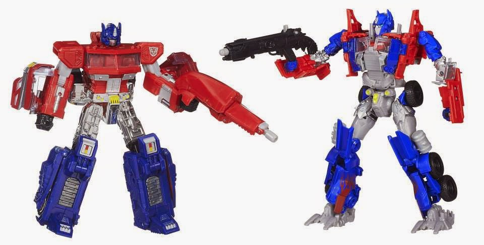 Transformers 4 AOE Age of Extinction Optimus Prime Evolutions 2 Pack Evasion Mode Faceplate