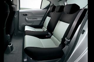 Interior: Back Seat: Toyota New Prius C / Aqua Hybrid
