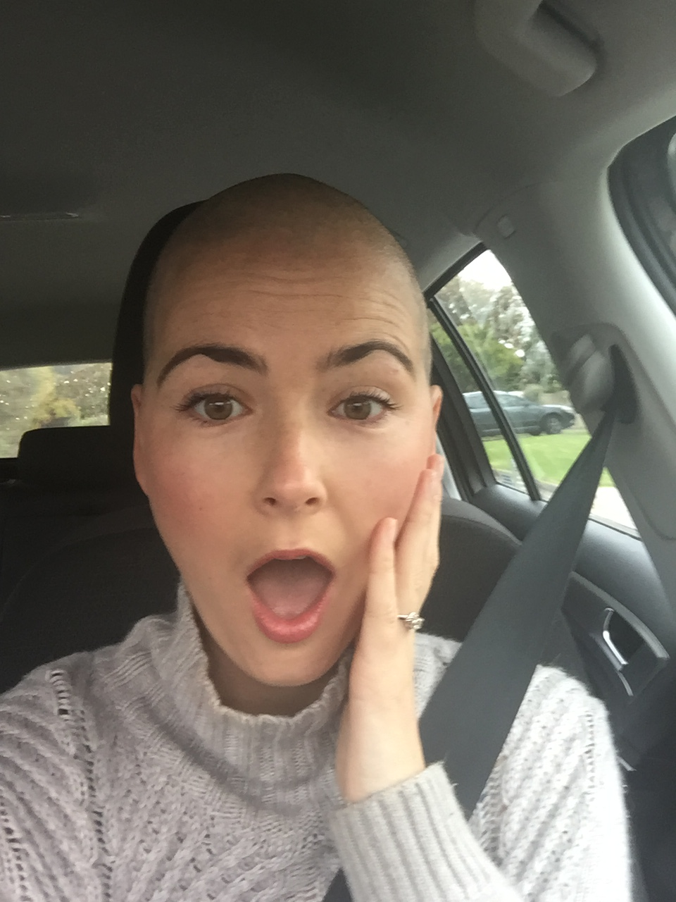 Mourning and managing the loss of my hair with open eyes day 1 of shaved hair and feeling shocked buycottarizona Image collections