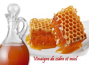 vinaigre de cidre et miel