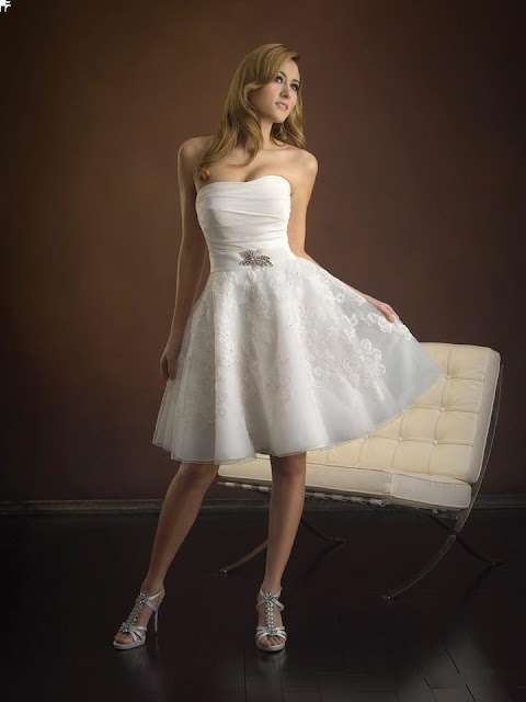 Tidebuy for Short beach style wedding dresses