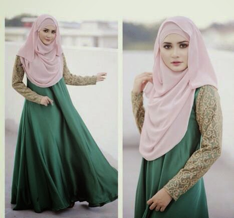 Mode hijab printemps