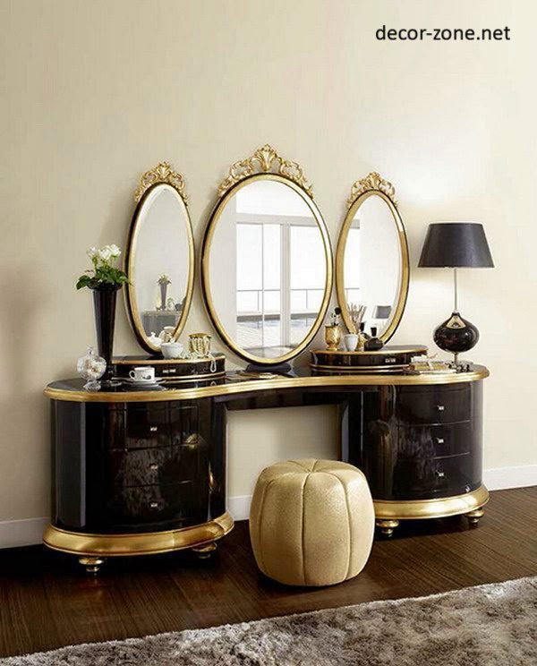 30 modern dressing table designs for bedroom ideas mirrors lighting. Black Bedroom Furniture Sets. Home Design Ideas