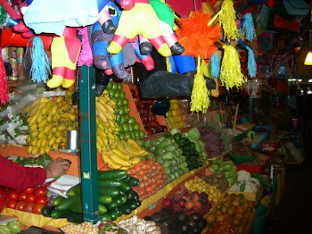 Fruit and Vegetable Stand Coyoacan, Mexico City