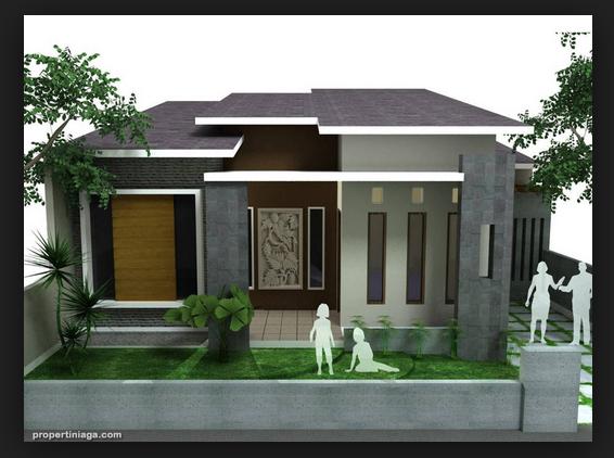 contoh desain properti rumah minimalis terbaru