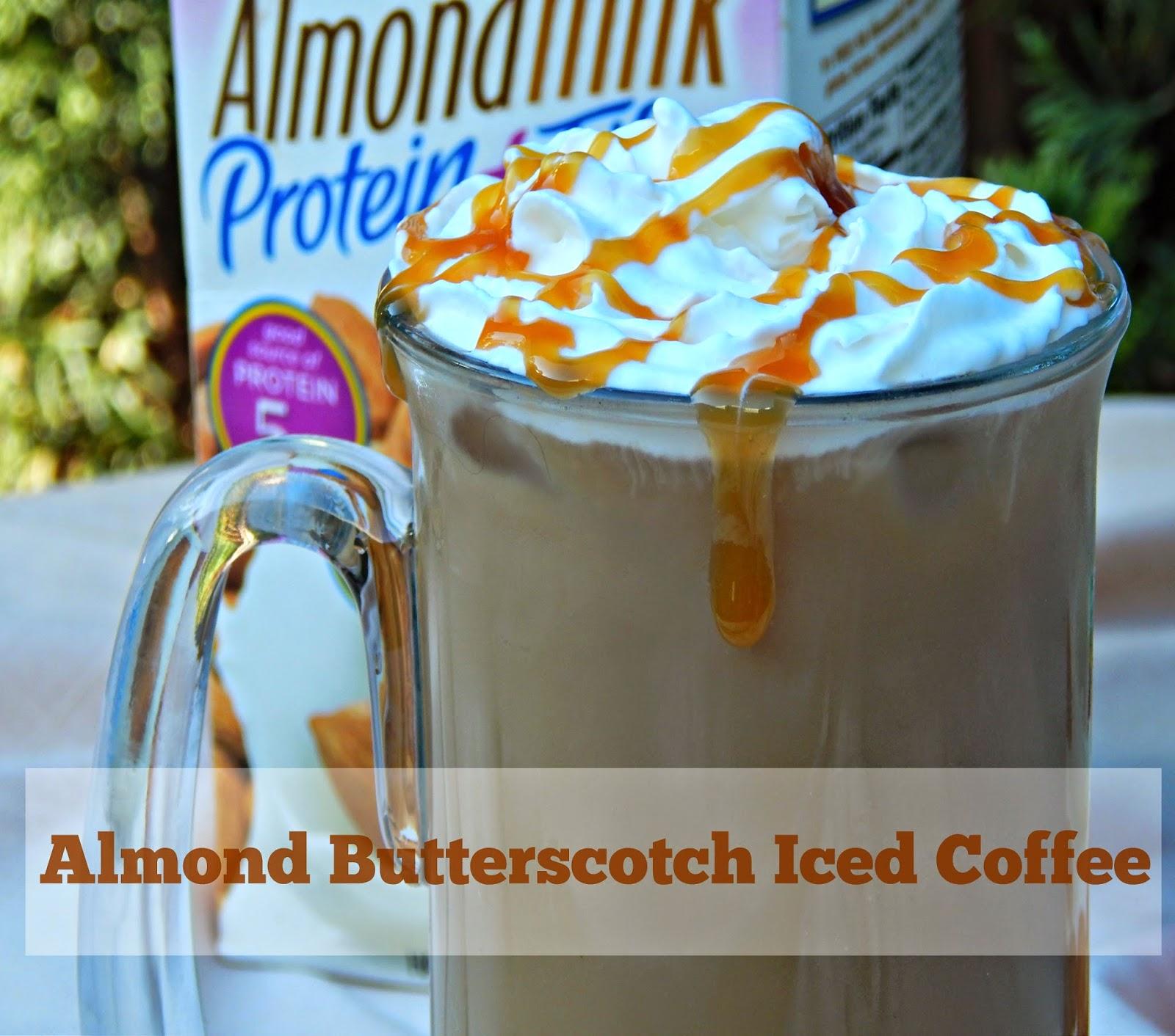 Recipe for Almond Butterscotch Iced Coffee #SilkAlmondBlends #cbias #shop