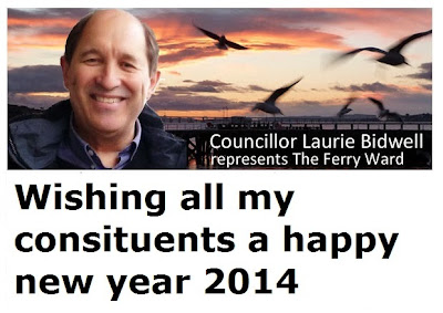 Wishing all my constituents a happy new year 2014