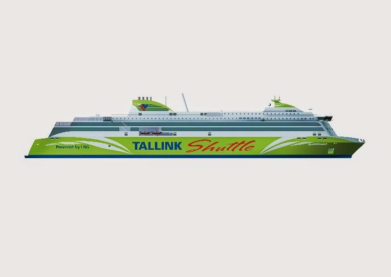 TallinkSilja, Tallink uusi alus, Shutte 2017, LNG, Nestekaasu, Tallinna tutuksi