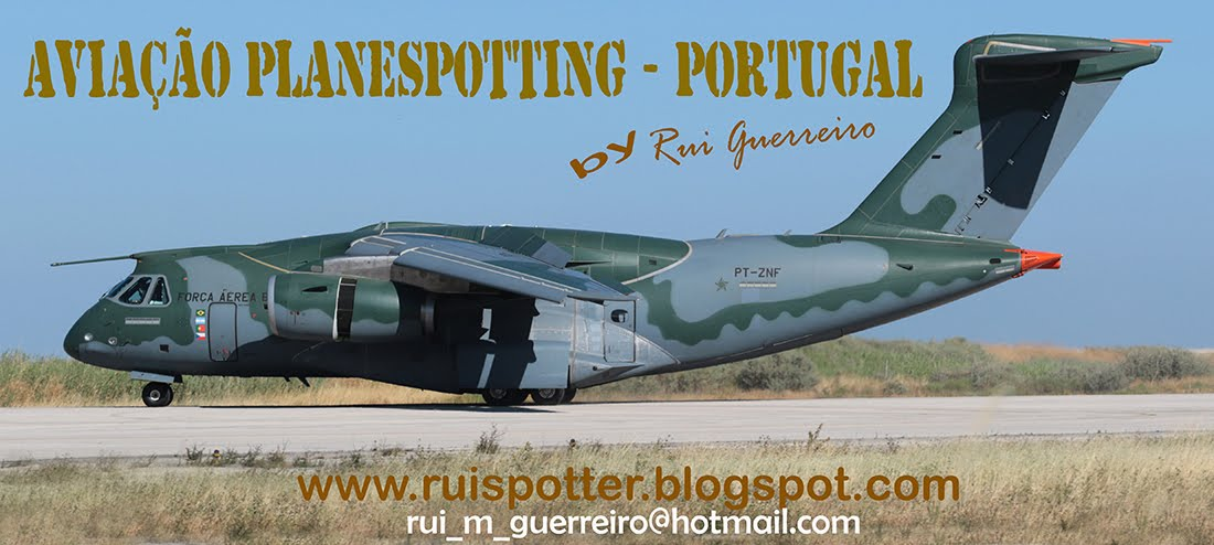 AVIAÇÃO  - PLANESPOTTING - PORTUGAL