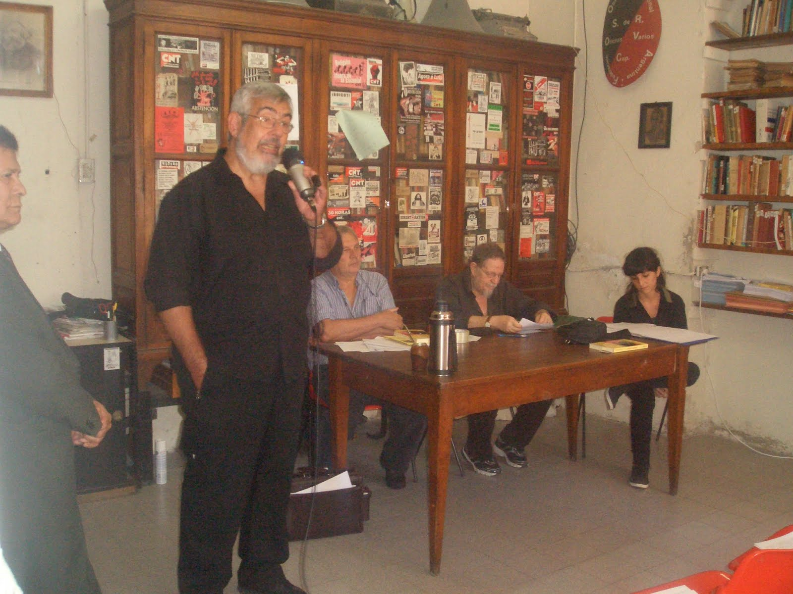 Acto en el local de barracas de la F.O.R.A