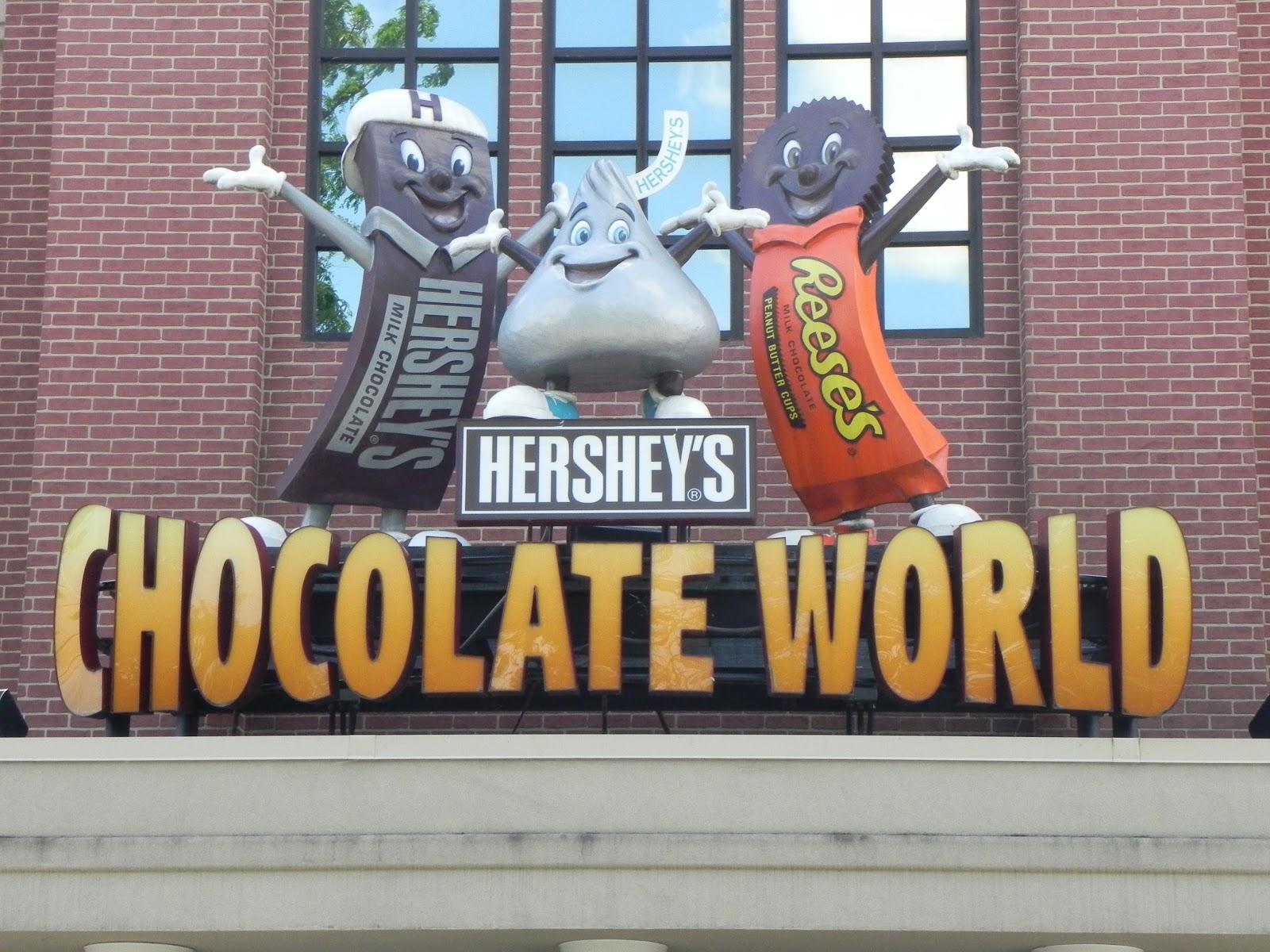 मी फिरीस्ता: Hershey's Chocolate World