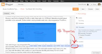tips mudah SEO, edit ALT tag, label gambar dalam blog